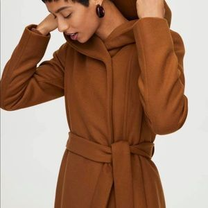 Brenna wool coat